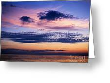 Sky After Sunset Greeting Card