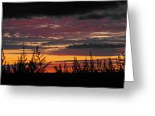 Sky Colours Greeting Card
