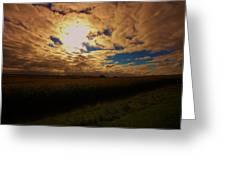 Farmland Sky Greeting Card