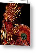 Sky Diver - Carnival Greeting Card