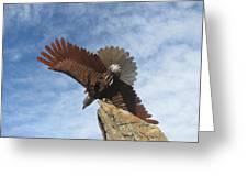 Sky Eagle Greeting Card