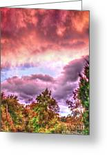 Sky Fire 2 Greeting Card