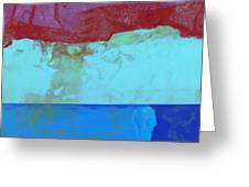 Sky Into The Sea Greeting Card