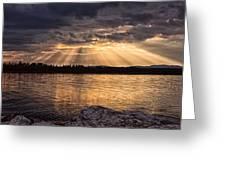 Sky Lights Greeting Card