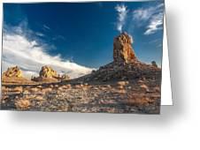 Sky Masters - Trona Pinnacles Greeting Card