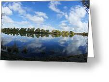 Sky Mirror  Greeting Card