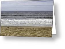 Sky Sea Surf And Sands Greeting Card