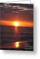 Sky On Fire I Greeting Card