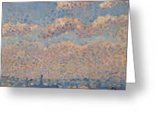 Sky Over The City Greeting Card