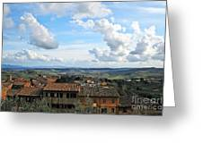 Sky Over Tuscany Greeting Card
