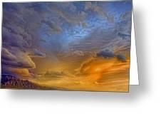 Sky Painting Photo 3621 Greeting Card