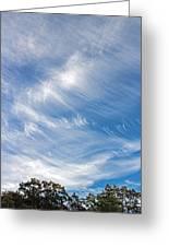 Sky Paintings IIi Greeting Card