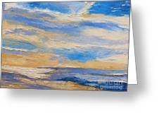 Sky At Sunset Greeting Card
