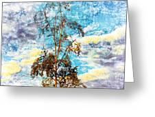 Sky Tree Greeting Card