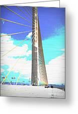 Skybridge Greeting Card