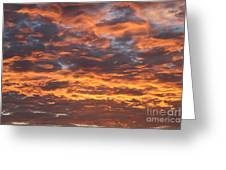 Skyfire Greeting Card