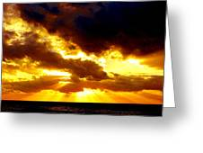 Skygold Greeting Card