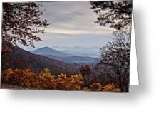 Skyline Drive At Sunrise Greeting Card