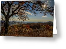 Skyline Drive Greeting Card