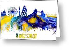 Skyline London England  Greeting Card