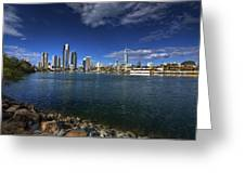 Skyline Of Surfers Paradise Greeting Card