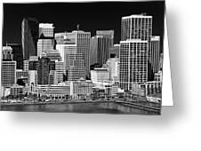 Skyline San Francisco Greeting Card