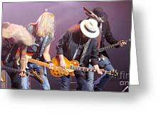 Skynyrd-group-7638 Greeting Card
