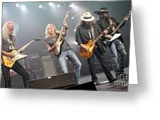 Skynyrd-group-7670 Greeting Card