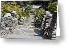 Slate Steps Greeting Card