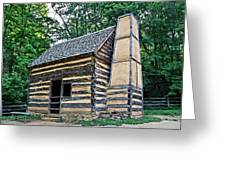 Slave Cabin Greeting Card