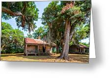 Slave Quarters 2 Greeting Card