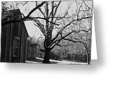 Slave Quarters At Stagville Plantation Greeting Card