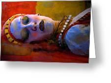 Sleeping Beauty In Waiting Greeting Card