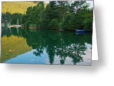 Sleeping Boats Greeting Card