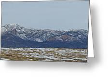 Sleeping Ute Mountain Greeting Card