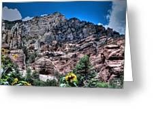 Slide Rock Canyon Greeting Card