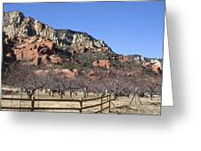 Slide Rock Greeting Card