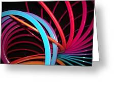 Slinky Craze 3 Greeting Card