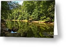 Slippery Rock Creek Greeting Card