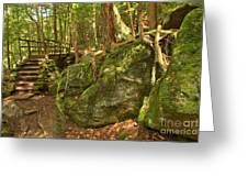 Slippery Rock Creek Bridge Greeting Card