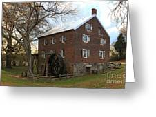 Sloan Park Grist Mill Greeting Card