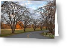 Sloan Park Sunset Greeting Card