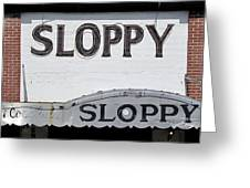 Sloppy Joes Key West Greeting Card