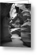 Slot Canyon 2 Greeting Card