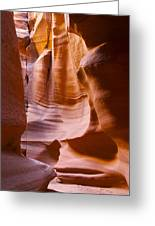 Slot Canyon 3 Greeting Card