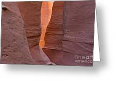 Slot In Palo Duro Canyon 110213.45 Greeting Card
