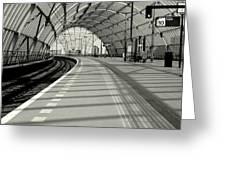 Sloterdijk Station In Amsterdam Greeting Card