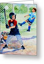Slugger And Kicker Greeting Card