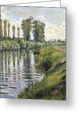Small Branch Of The Seine At Argenteuil Greeting Card