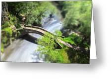 Small Bridge  Greeting Card